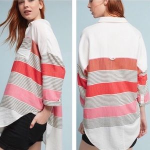 Anthropologie Holding Horses Oversized Button Down